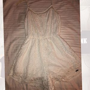 hollister lacy romper